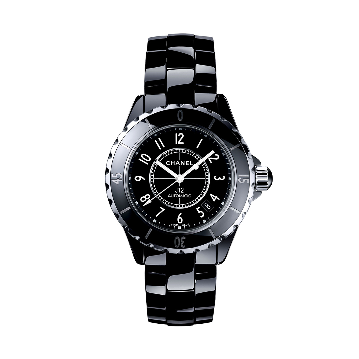CHANEL J12 BLACK 38mm H0685