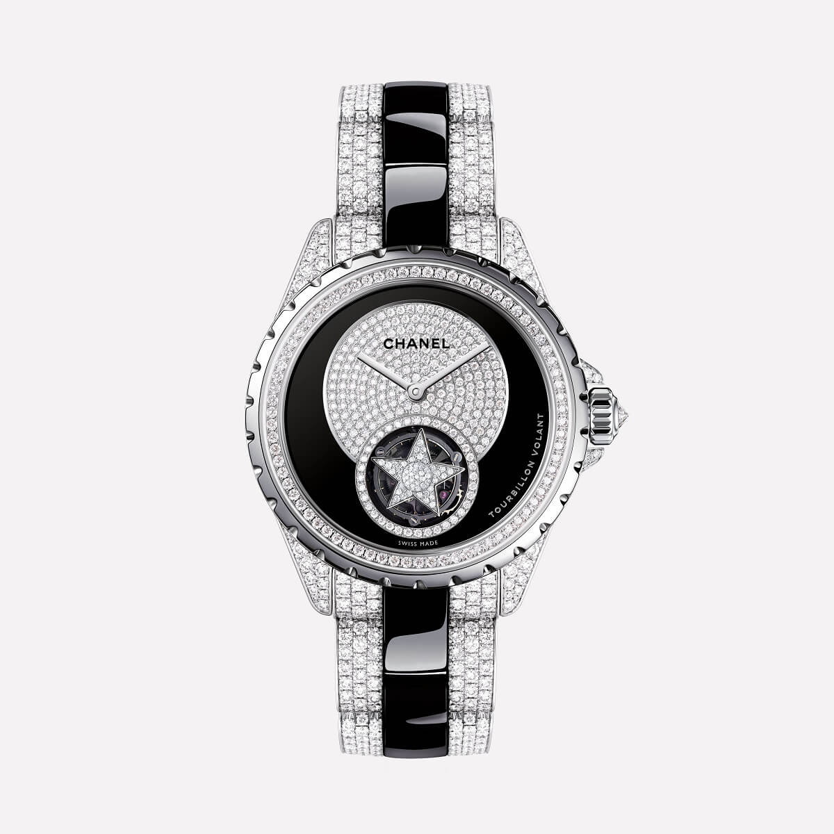 CHANEL J12 FLYING TOURBILLON 38mm H4355